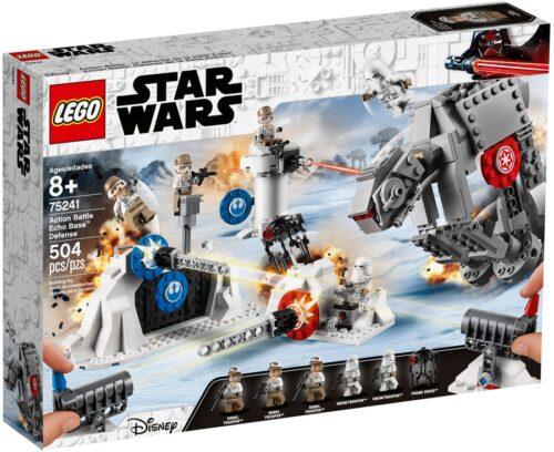 Lego - 75241 Star Wars Action Battle - Difesa Della Echo Base New 05-2019
